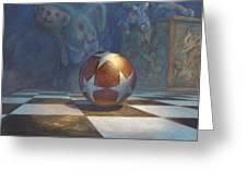 The Ball Greeting Card by Leonard Filgate