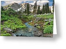 Wasatch Mountains Utah Greeting Card by Utah Images