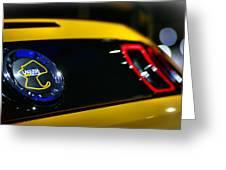 2012 Ford Mustang Boss 302 Laguna Seca Greeting Card by Gordon Dean II