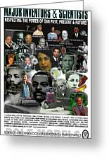 Major Inventors And Scientists Greeting Card by Purpose Publishing