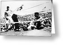 Jack Dempsey (1895-1983) Greeting Card by Granger