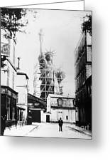 Statue Of Liberty, Paris Greeting Card by Granger