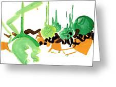 Stylish Greeting Card by Natoly Art