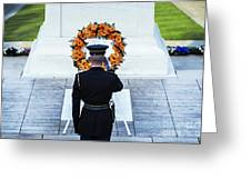 Tomb Of The Unknown Soldier Greeting Card by John Greim