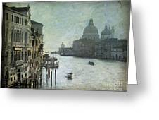 Venice Greeting Card by Bernard Jaubert