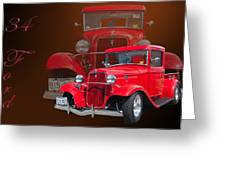34 Ford Pick Up Greeting Card by Jim  Hatch