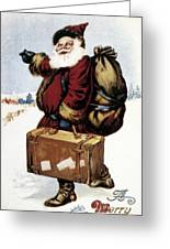 American Christmas Card Greeting Card by Granger