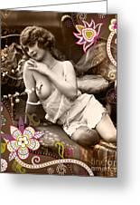 Goddess Greeting Card by Chris Andruskiewicz
