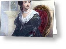 ABIGAIL ADAMS (1744-1818) Greeting Card by Granger
