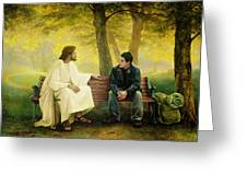Lost And Found Greeting Card by Greg Olsen