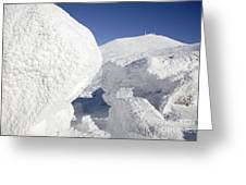 Mount Washington - New Hampshire Usa Greeting Card by Erin Paul Donovan