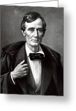 President Lincoln Greeting Card by War Is Hell Store