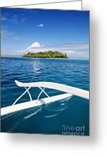 View Of Tahiti Greeting Card by Joe Carini - Printscapes