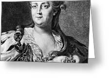 CATHERINE II (1729-1796) Greeting Card by Granger
