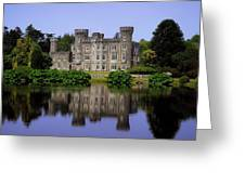 Johnstown Castle, Co Wexford, Ireland Greeting Card by The Irish Image Collection