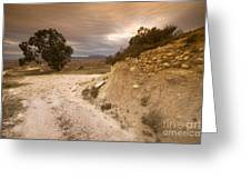 Spanish Landscape Greeting Card by Angel  Tarantella