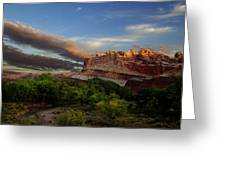 Capitol Reef National Park Greeting Card by Mark Smith
