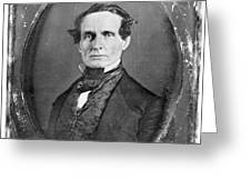 JEFFERSON DAVIS Greeting Card by Granger