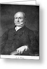 John Quincy Adams Greeting Card by Granger