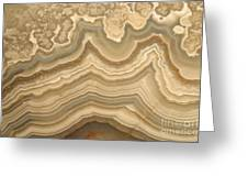 Agate Greeting Card by Ted Kinsman