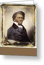 Frederick Douglass Greeting Card by Granger