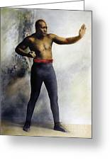 Jack Johnson (1878-1946) Greeting Card by Granger