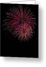 Fireworks Greeting Card by Jason Blalock