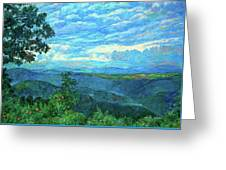 A Break In The Clouds Greeting Card by Kendall Kessler