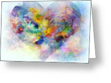A Love Remembered Greeting Card by Wbk