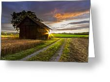 A Moment Like This Greeting Card by Debra and Dave Vanderlaan