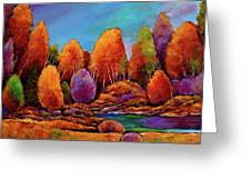 A Moments Embrace Greeting Card by Johnathan Harris