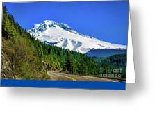 A Mountain Called Hood Greeting Card by Jon Burch Photography