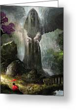 A Place To Ponder Greeting Card by Steve Goad