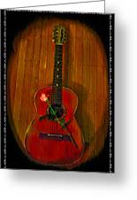 A Song For My Love Greeting Card by Bill Cannon