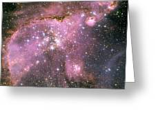 A Star-forming Region In The Small Greeting Card by Stocktrek Images