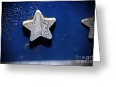 A star reborn Greeting Card by CJ MAINOR