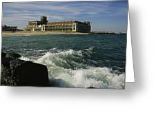 A View Of The Seaside Convention Center Greeting Card by Ira Block