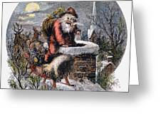 A Visit From St Nicholas Greeting Card by Granger