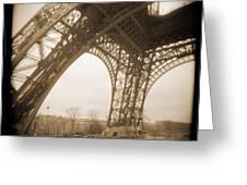 A Walk Through Paris 13 Greeting Card by Mike McGlothlen