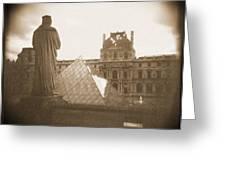 A Walk Through Paris 16 Greeting Card by Mike McGlothlen