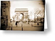 A Walk Through Paris 3 Greeting Card by Mike McGlothlen