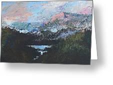 A Wilderness View Greeting Card by Douglas Trowbridge