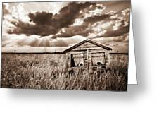 abandoned Greeting Card by Meirion Matthias