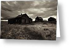 Abandoned Greeting Card by Mike  Dawson