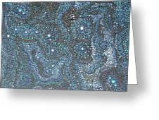 Aboriginal Dreams of Ursa Minor Greeting Card by Marc Sevigny