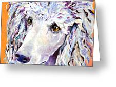 Above The Standard   Greeting Card by Pat Saunders-White