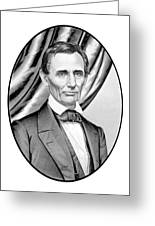 Abraham Lincoln Circa 1860 Greeting Card by War Is Hell Store