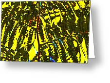 Abstract - Dappled Light Greeting Card by Kerri Ligatich