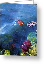 Abstract-10 Greeting Card by Todd Sherlock