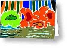 Abstract 229 Greeting Card by Patrick J Murphy